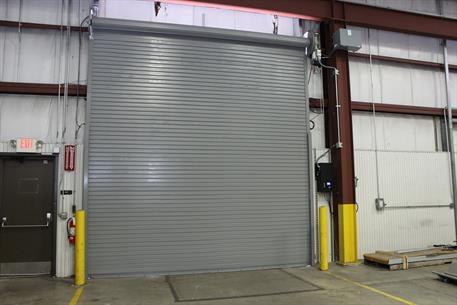 High Speed Rolling Door 300 Series Interior View