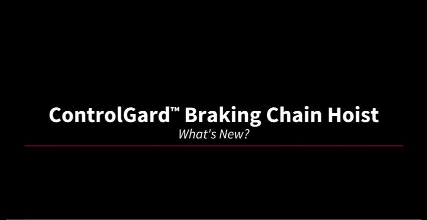 ControlGard Chain Hoist Thumbnail Image