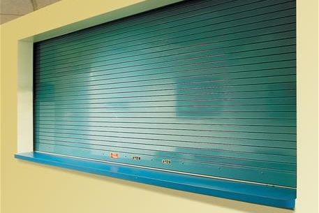 SmokeShield Counter Door, blue