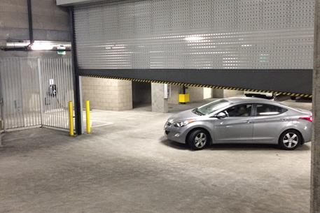 1024 with sloped BB in Parking Garage