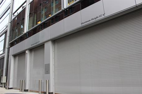 High Speed Rolling Door Downtown Boston - 1024 Overhead Door