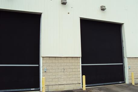 Overhead Rubber Doors_GM facility - Shreveport-4