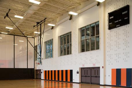 Fire Rated doors at East High School Gym