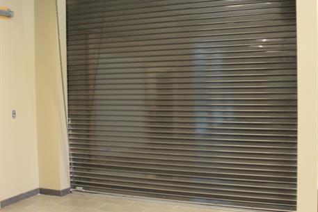 Fire Doors AlarmGard with coil and op showing & CrossingGard Egress Door