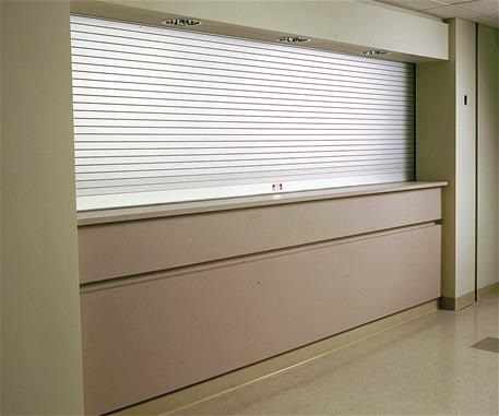 Counter Door, mill aluminum