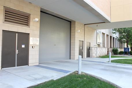 ... Roll Up Door With Perforated Slats · Overhead Garage Door   Hospital IL  ...