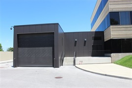 Insulated Garage Doors St. Louis Art Museum   Dock Door