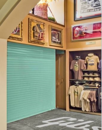 Insulated Roll Up Door ThermiserMax golfshop