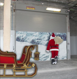insulated rolling garage doors north pole 03