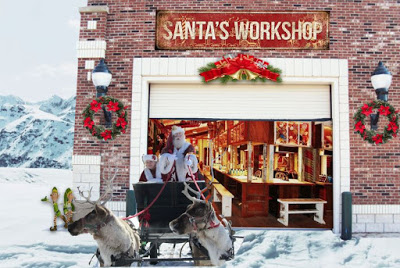 Santas insulated rolling garage doors