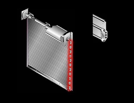 Cornell Rolling Door Component Illustrator
