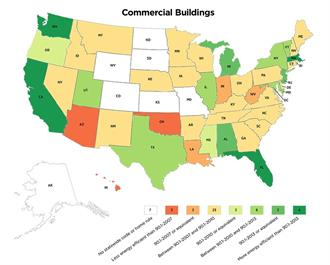 energy efficient garage doors map