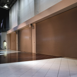 Fire Door Solutions Mall Brown