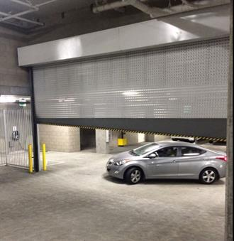 precision garage door parking 2