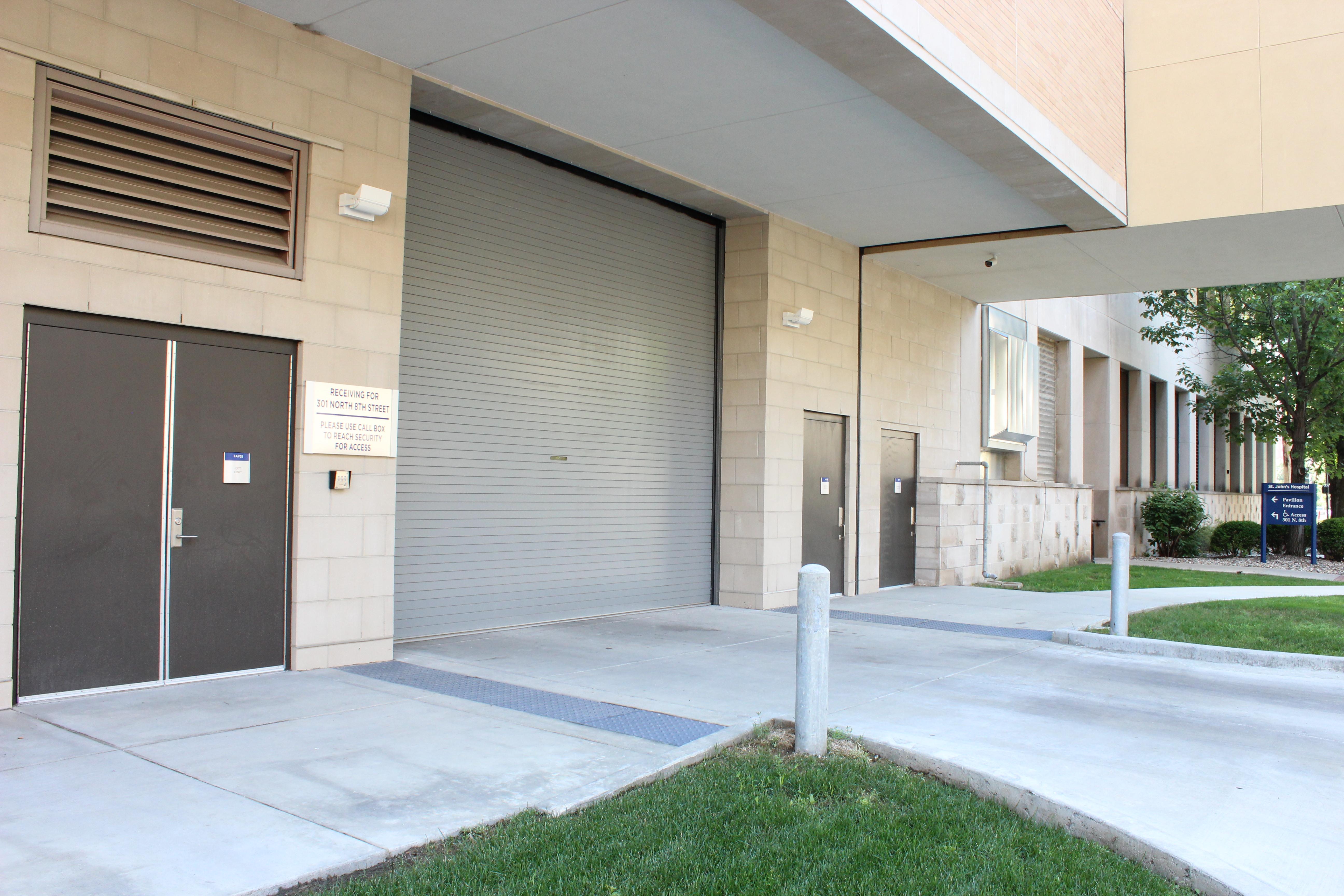 Cornell's Various steel roll up door applications: