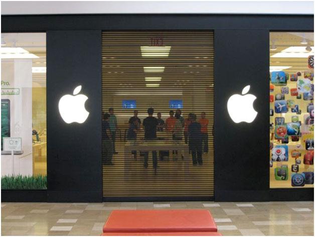 Apple Store 4_10 09 ... & ScreenGard™ Perforated Galvanized Steel Slat Doors