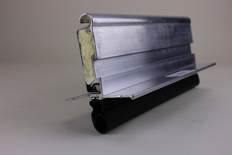 Extruded alum. mill powder coated bottom bar w/astragal for insulated doors & Cornell Parts pezcame.com
