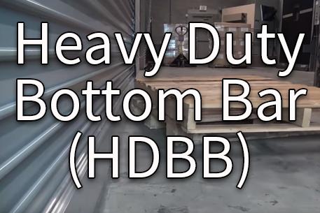 Heavy Duty Bottom Bar