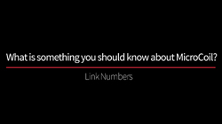 MicroCoil- Link Numbers