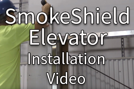 SmokeShield Elevator Installation