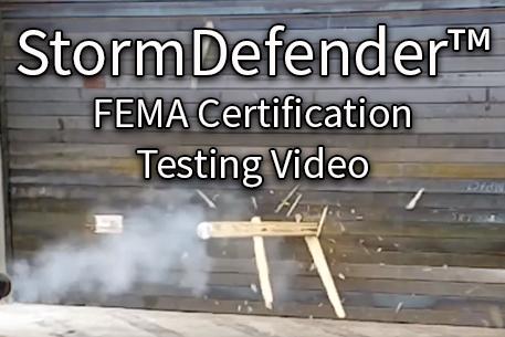 StormDefender FEMA test