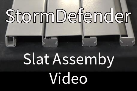 StormDefender Slat Assembly