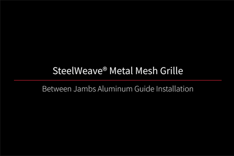 SteelWeave Grille Between Jams Video Thumbnail Black