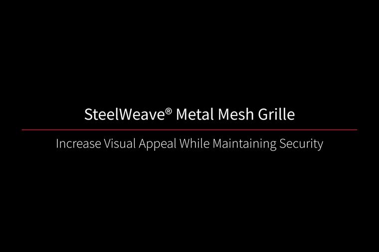 SteelWeave Grille Video Thumbnail Black